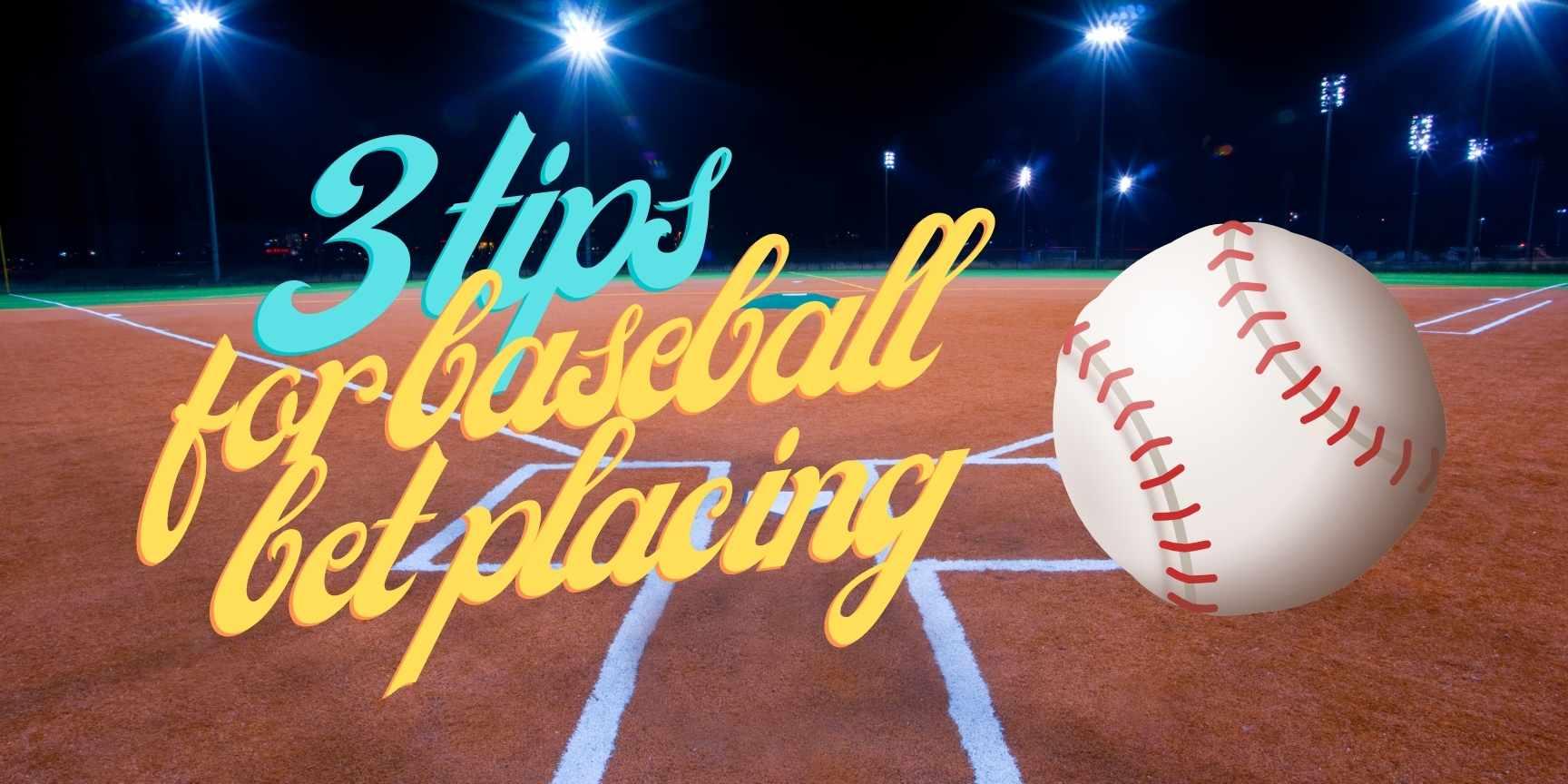 baseball bet placing