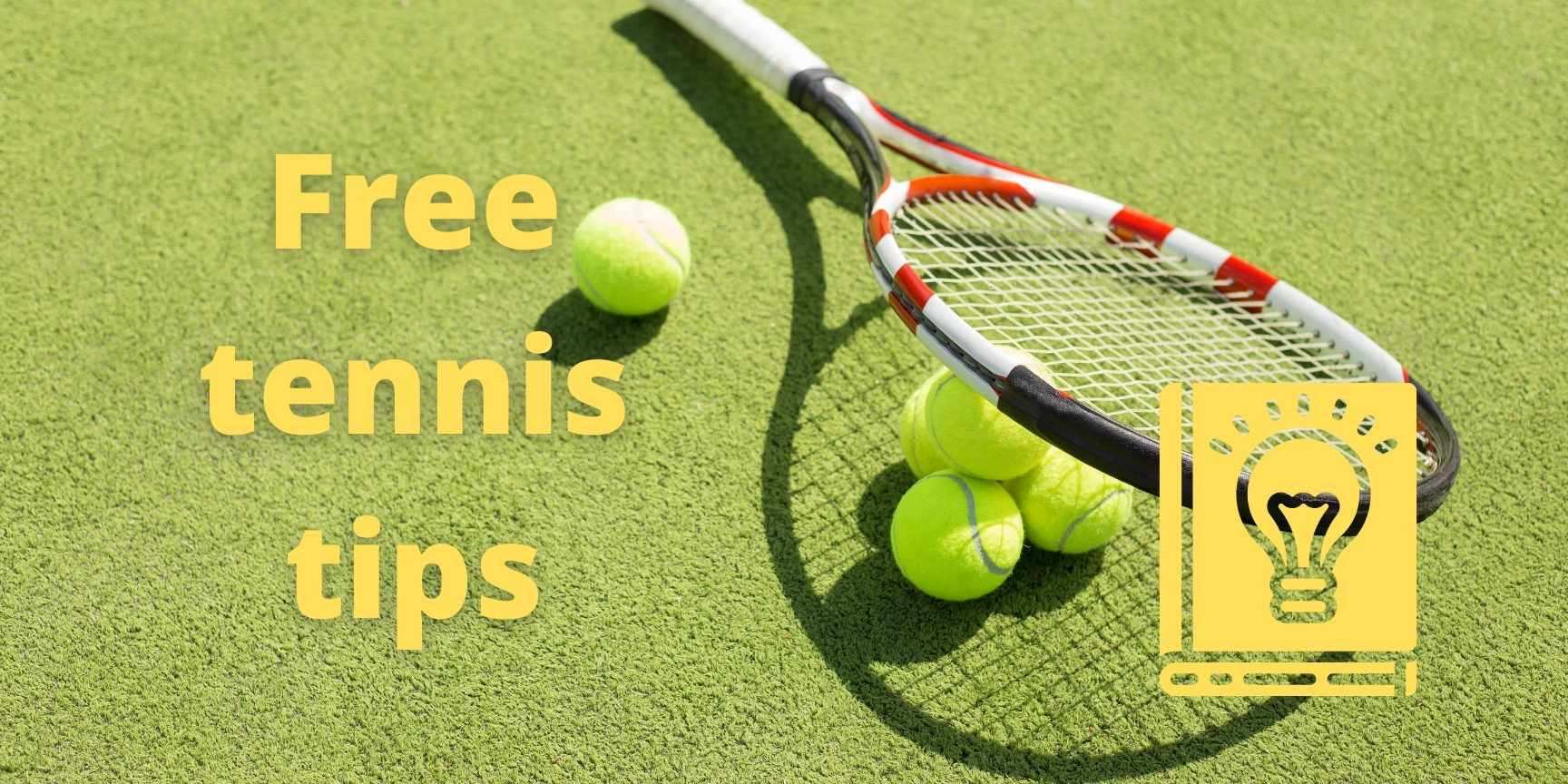 free tennis tips