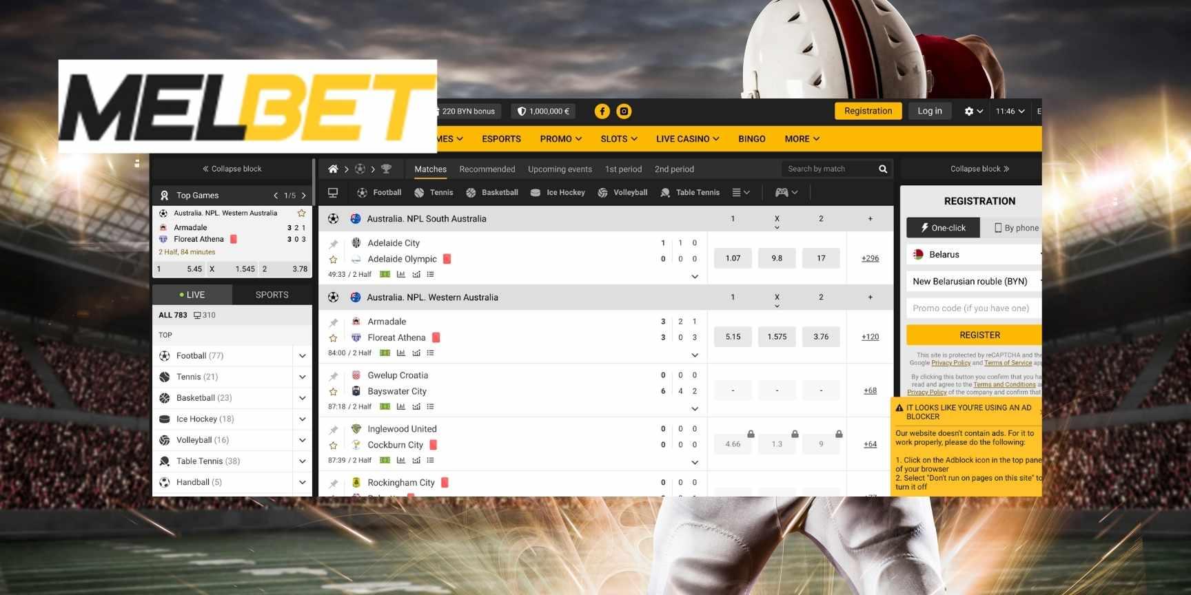 melbet website review