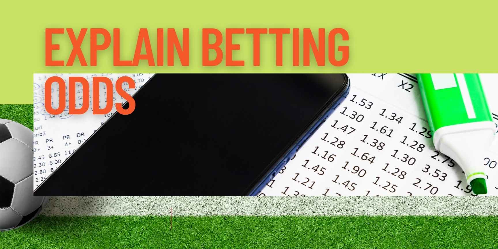 explain betting odds